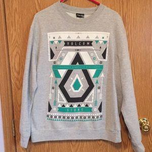 Volcom Men's Graphic Crewneck Sweatshirt